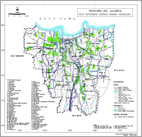 Peta Daerah Rawan Genangan Air