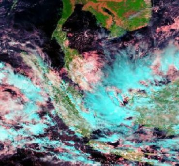 Pemanfaatan Satelit MODIS untuk perekaman kondisi atmosfer secara harian. (Sumber : www.lapanrs.com)