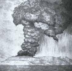 Model letusan Krakatau (3)