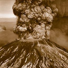 Model letusan Krakatau (2)