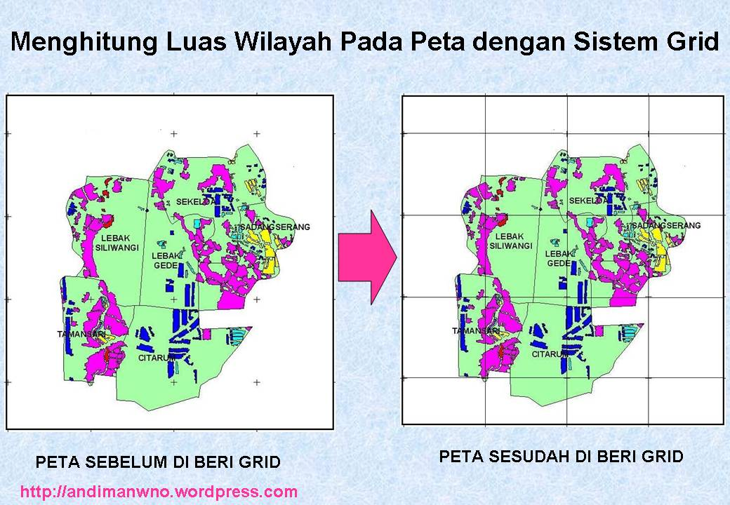 Menghitung luas wilayah pada peta 1 blog guru geografi man wonosari menghitung dengan menggunakan sistem grid adalah dengan membuat petak petak pada gambar peta dalam bentuk bujur sangkar yang berukuran sama ccuart Image collections