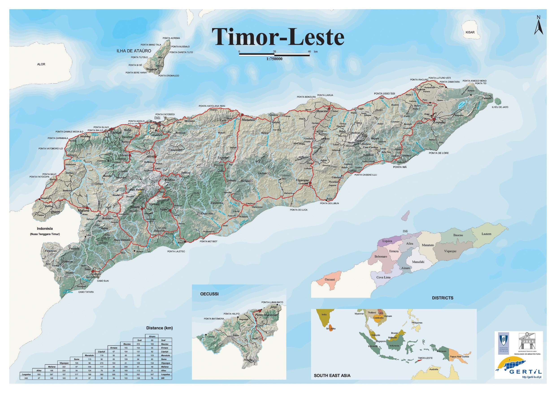 Komponen Peta Inset Blog Guru Geografi Man Wonosari Sukai Gambar